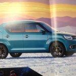 Suzuki Ignis brochure scans side surface