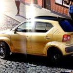 Suzuki Ignis brochure scans side top surface