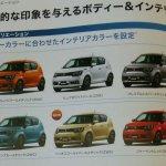 Suzuki Ignis exterior color options leaked