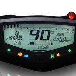 TVS Apache RTR 200 4V digital speedometer leaked