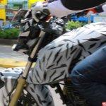 TVS Apache RTR 200 4V fuel tank new spyshots in Indonesia