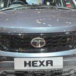 Tata Hexa Tuff grille at Geneva Motor Show 2016