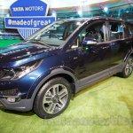 Tata Hexa front quarters at Auto Expo 2016