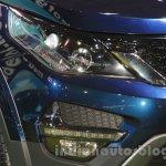 Tata Hexa headlight at Auto Expo 2016