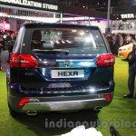 Tata Hexa rear at Auto Expo 2016