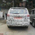 Tata Hexa rear snapped in Sikkim