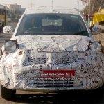 Tata Nexon front snapped up close
