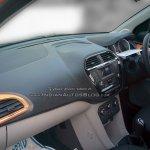 Tata Zica interior dealer spied