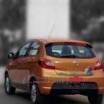 Tata Zica rear dealer spied