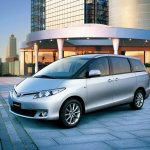 2014 Toyota Previa Front press image