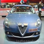 2016 Alfa Romeo Giulietta (facelift) front at the 2016 Geneva Motor Show