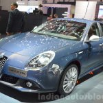 2016 Alfa Romeo Giulietta (facelift) front three quarter at the 2016 Geneva Motor Show