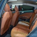 2016 Alfa Romeo Giulietta (facelift) rear seat at the 2016 Geneva Motor Show