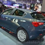 2016 Alfa Romeo Giulietta (facelift) rear three quarter at the 2016 Geneva Motor Show