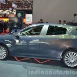 2016 Alfa Romeo Giulietta (facelift) side at the 2016 Geneva Motor Show