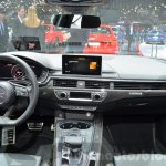 2016 Audi S4 Avant dashboard at 2016 Geneva Motor Show