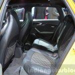 2016 Audi S4 Avant rear seat at 2016 Geneva Motor Show