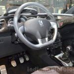 2016 DS 3 steering wheel at 2016 Geneva Motor Show