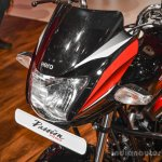 2016 Hero Passion Pro headlamp at Auto Expo 2016