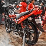 2016 Hero Passion Pro rear quarter at Auto Expo 2016