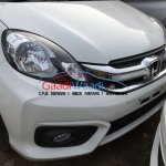 2016 Honda Amaze facelift grille spied