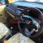 2016 Honda Amaze facelift interiors spied