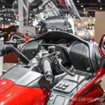 2016 Honda Goldwing handlebar at Auto Expo 2016