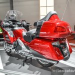 2016 Honda Goldwing rear quarter at Auto Expo 2016