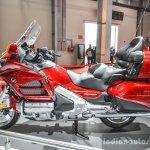 2016 Honda Goldwing side at Auto Expo 2016