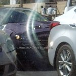 2016 Hyundai Elantra front snapped testing in India for first time - Spied