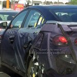 2016 Hyundai Elantra side profile snapped testing in India for first time - Spied