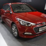 2016 Hyundai i20 front quarter showcased at Make in India event