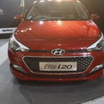 2016 Hyundai i20 front showcased at Make in India event