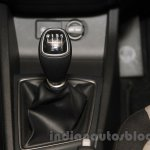 2016 Hyundai i20 gear lever at the Auto Expo 2016