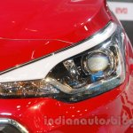 2016 Hyundai i20 headlamp at the Auto Expo 2016