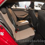 2016 Hyundai i20 rear seat at the Auto Expo 2016