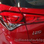 2016 Hyundai i20 taillight at the Auto Expo 2016