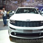 2016 Jeep Grand Cherokee SRT Night front at the Geneva Motor Show Live