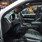 2016 Jeep Grand Cherokee SRT Night front cabin at the Geneva Motor Show Live