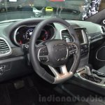 2016 Jeep Grand Cherokee SRT Night interior at the Geneva Motor Show Live