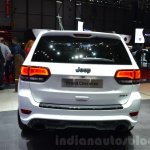 2016 Jeep Grand Cherokee SRT Night rear at the Geneva Motor Show Live