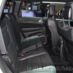 2016 Jeep Grand Cherokee SRT Night rear seats at the Geneva Motor Show Live