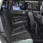 2016 Jeep Grand Cherokee SRT Night rear seats at the Geneva Motor Show Live