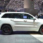 2016 Jeep Grand Cherokee SRT Night side at the Geneva Motor Show Live