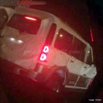 2016 Mahindra Scorpio Special Edition rear quarter spied