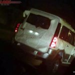 2016 Mahindra Scorpio Special Edition rear spied