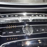 2016 Mercedes E Class (W213) clock at the Geneva Motor Show Live