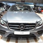 2016 Mercedes E Class (W213) front at the Geneva Motor Show Live