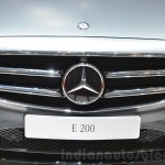 2016 Mercedes E Class (W213) grille at the Geneva Motor Show Live