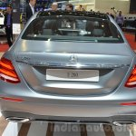 2016 Mercedes E Class (W213) rear at the Geneva Motor Show Live